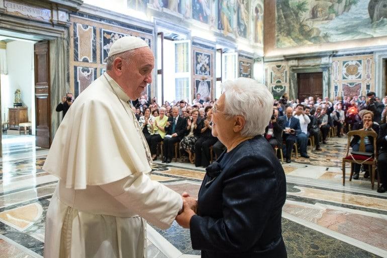 focolarini papa francesco maria voce