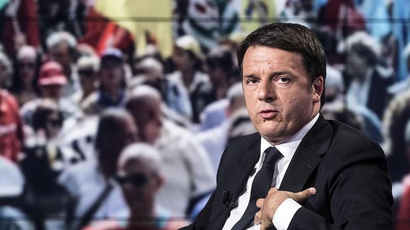 Matteo Renzi a Porta a Porta: «dobbiamo far capire che l'Italia è più grande della paura»