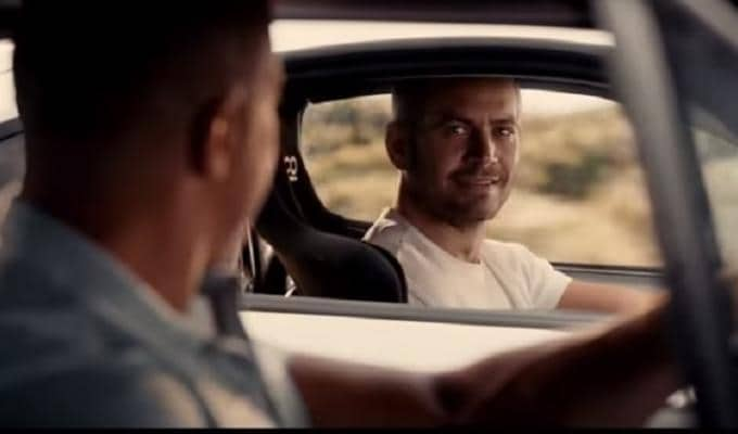 Fast and Furious 8 Paul Walker