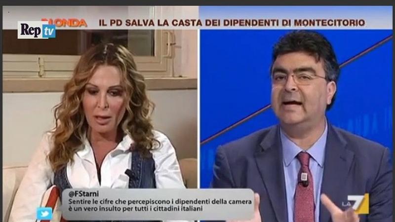 Emanuele Fiano Daniela Santanché