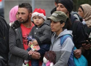 Migranti arrivo Germania