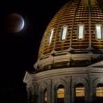 eclissi luna 28 settembre 2015 foto