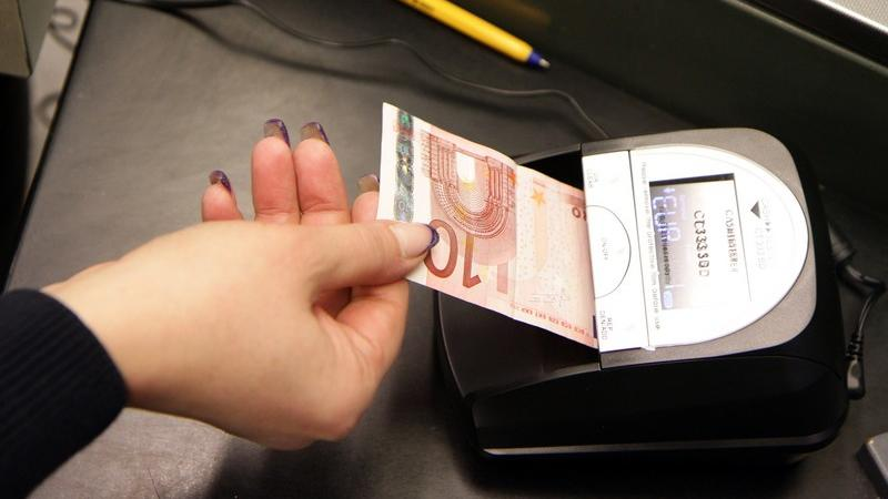 Euro banconote false