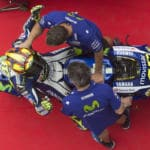 MotoGp Valencia Valentino Rossi vince il mondiale se