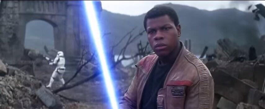 Star Wars VII Trailer Finn