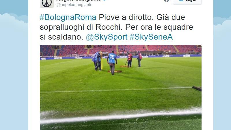 Bologna-Roma rinviata