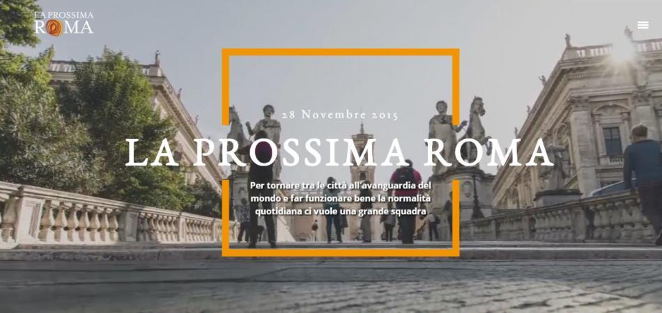 la prossima roma