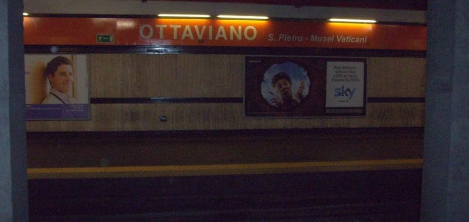 metro a roma ottaviano