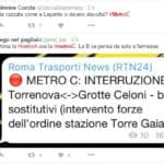metro falsi allarmi roma