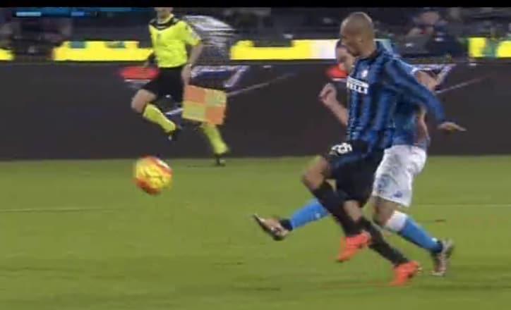 napoli-inter 2-1 gol highlights
