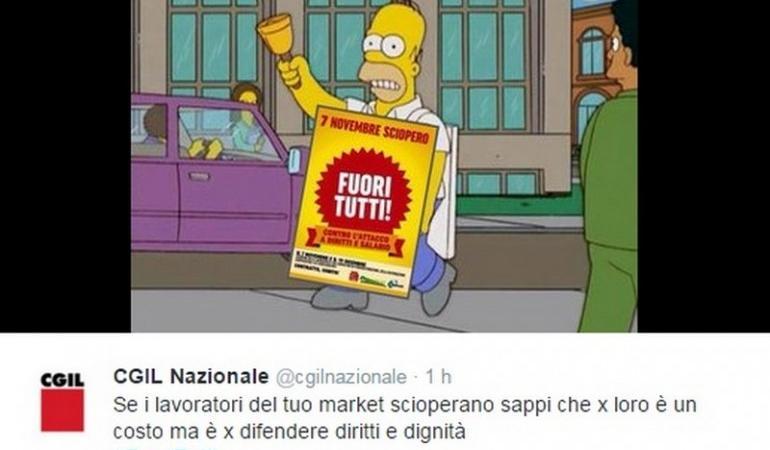 sciopero supermercati 7 novembre