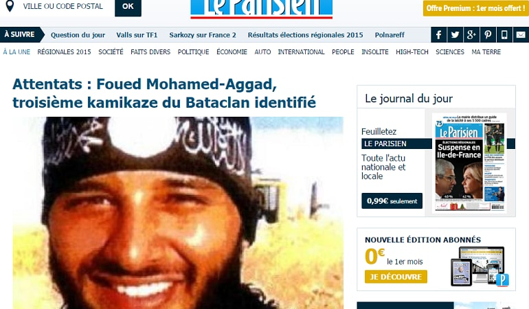 Foued Mohamed-Aggad bataclan