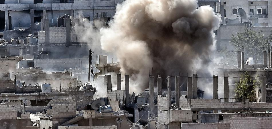 bombardamenti ISIS