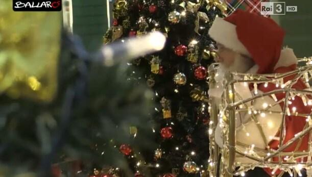 Babbo Natale senza casa