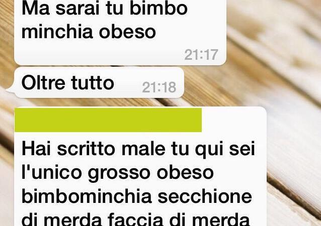 bullismo preside chat whatsapp