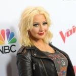 Christina Aguilera ubriaca