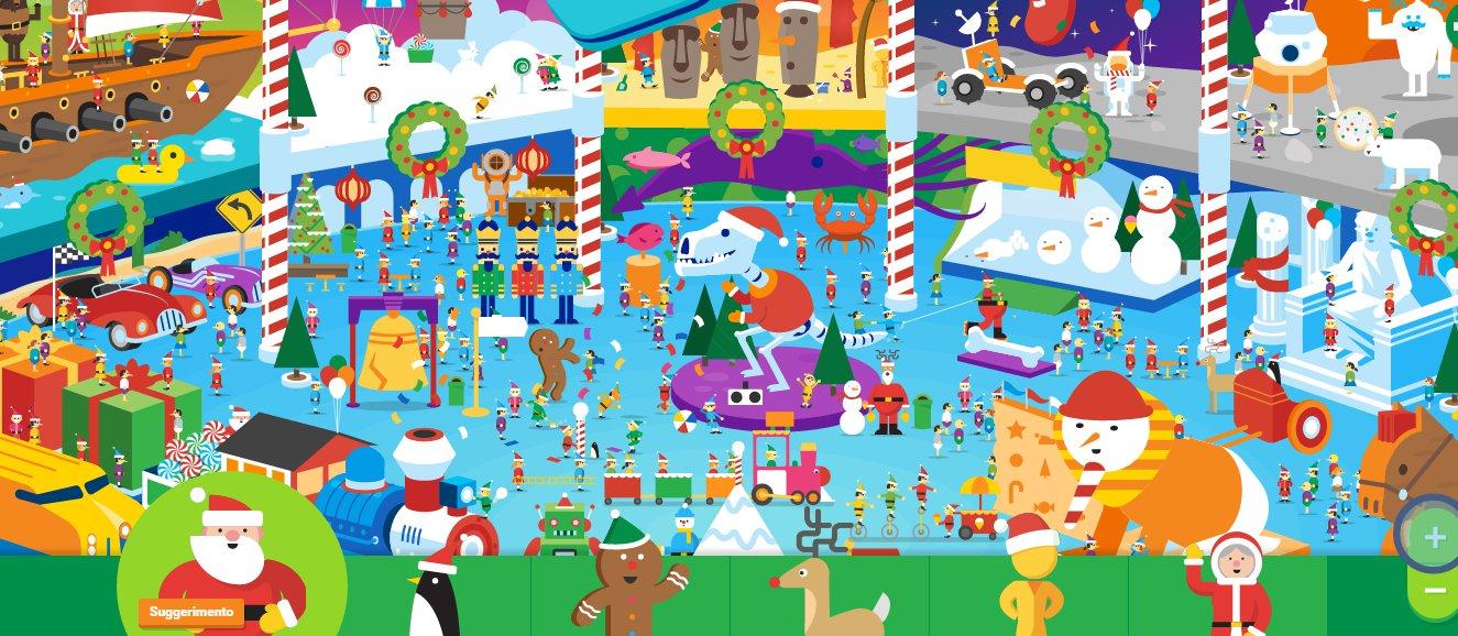 Tutti I Giochi Del Villaggio Google Di Babbo Natale Giornalettismo