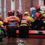 I danni del maltempo a York