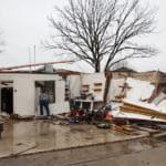 I danni del maltempo in Texas