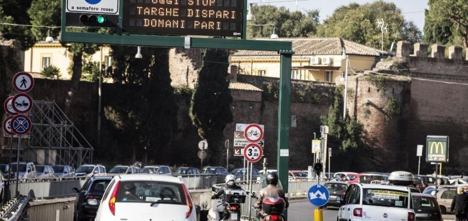 targhe alterne roma lunedì 21 martedì 22 dicembre 2015