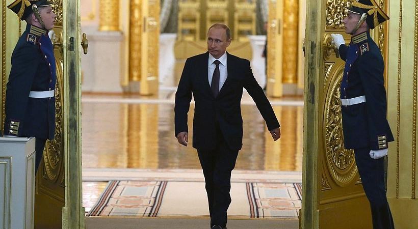 Vladimir Putin camminata