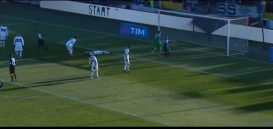 Atalanta-Inter autogol Murillo Toloi