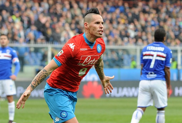 SAMPDORIA-NAPOLI 2-4 VIDEO GOL E HIGHLIGHTS