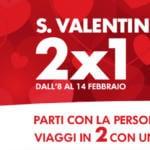 Trenitalia offerta San Valentino Gay
