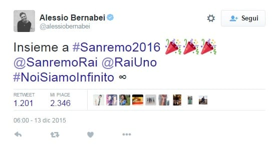 Testi canzoni Sanremo 2016 | Giornalettismo