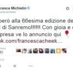 Testi canzoni Sanremo 2016