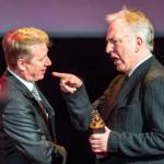 Alan Rickman ad una premiazione