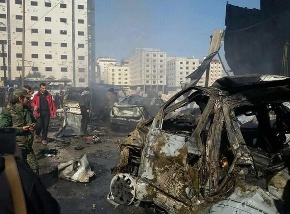 Attentato Isis a Damasco