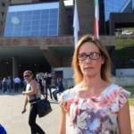 Ilaria Cucchi foto carabiniere facebook