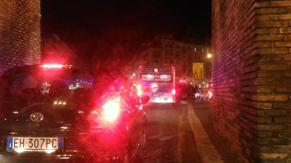 Metro a stop da arco di travertino a termini roma nel for Uffici temporanei roma termini