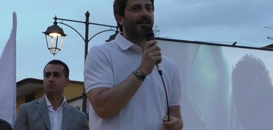 Roberto Fico a Quarto