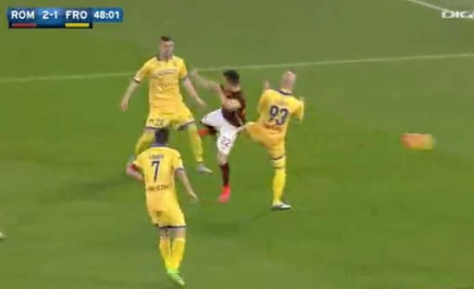 roma-frosinone video gol e highlights