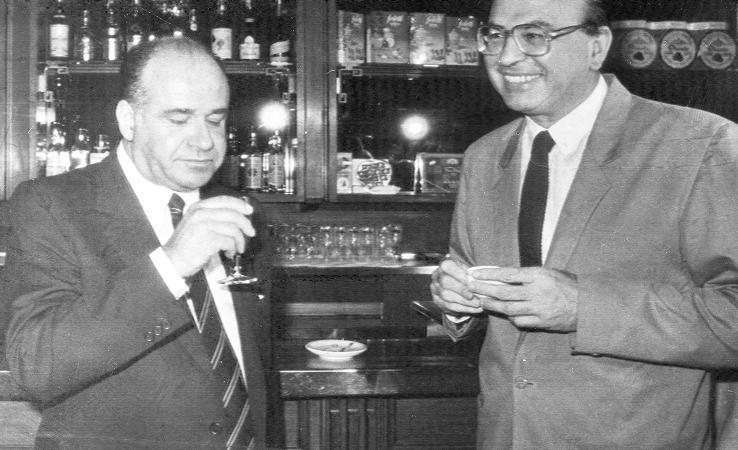 Valerio Zanone e Bettino Craxi