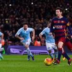 Barcellona-Celta Vigo: rigore di seconda Messi Suarez