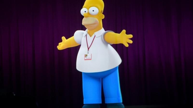 Homer Simpson live