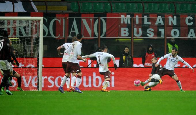 MILAN-TORINO 1-0 VIDEO GOL E HIGHLIGHTS