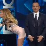 Virginia Raffaele imita Belen a Sanremo 2016