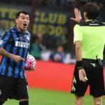 La partita di andata tra Inter e Fiorentina