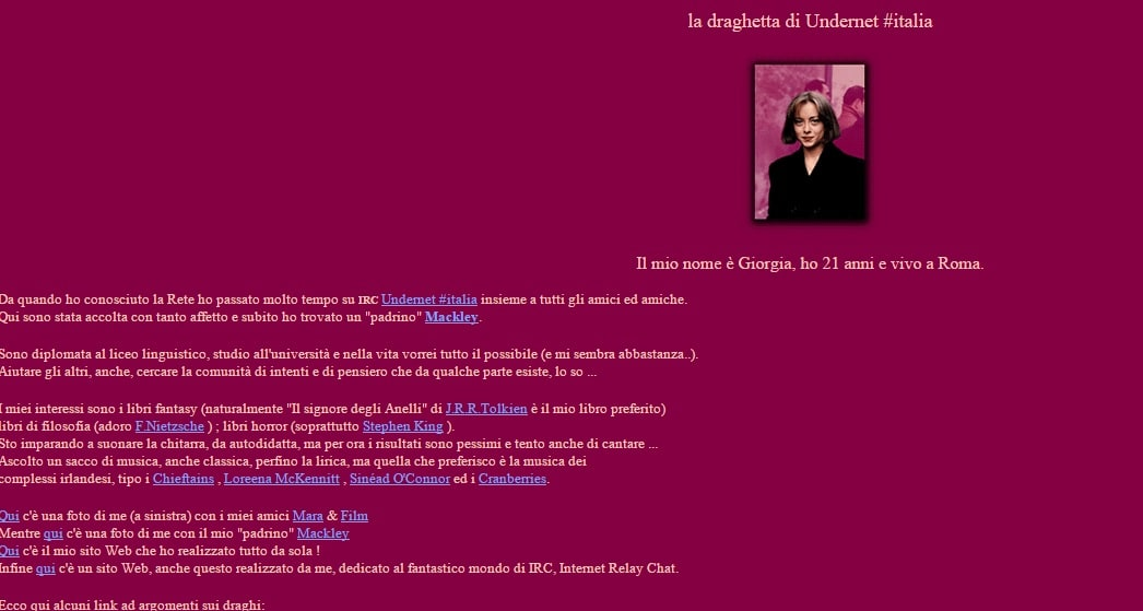 web amore chat