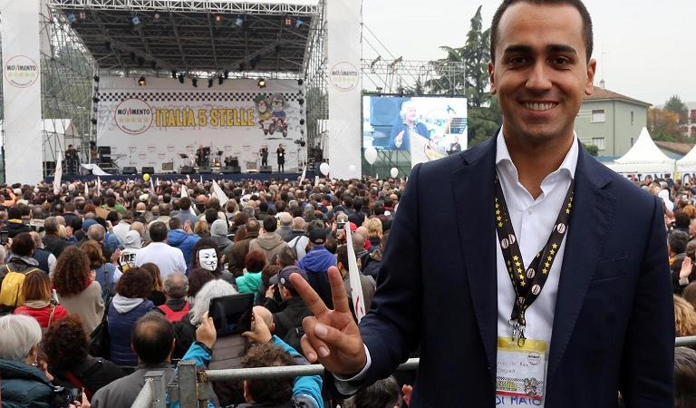Di Maio conflitto interessi Berlusconi