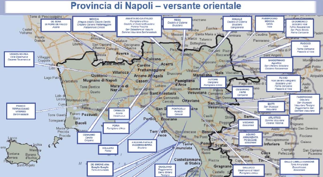 Cartina Vomero Napoli.Camorra A Napoli L Ultima Mappa Dei Clan