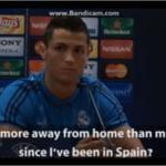 Roma-Real Madrid Cristiano Ronaldo