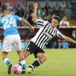 Un match tra Napoli e Juventus