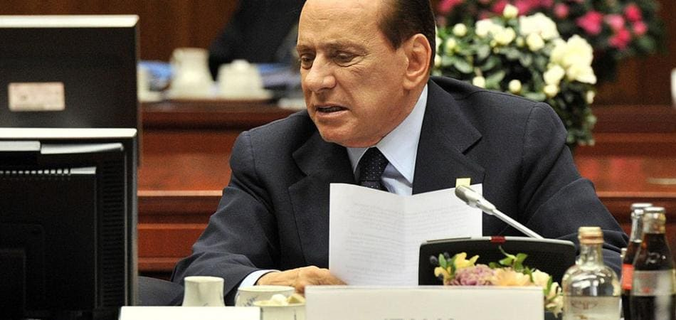 Berlusconi vegetariano