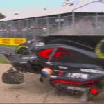 Fernando Alonso incidente Video