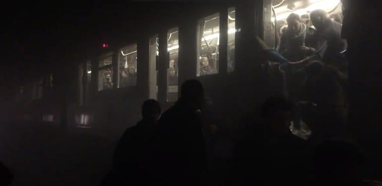 attentato bruxelles metropolitana video